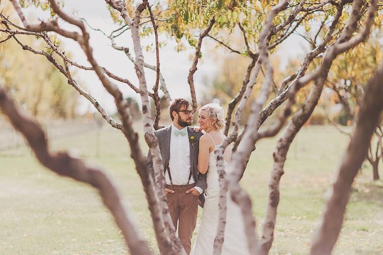 DIY Backyard Fall Wedding | Amanda + Zac