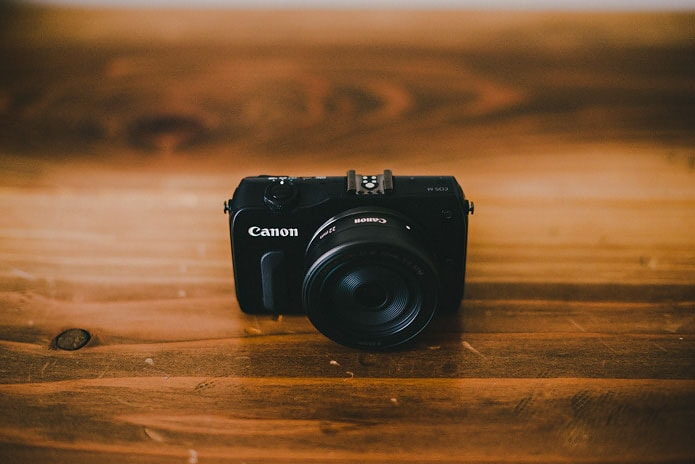 canon eos m review photo