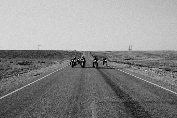 biker gang photo