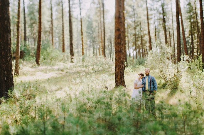 Forest Campground Wedding - Emily + Scott
