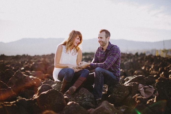 bend Oregon engagement photography