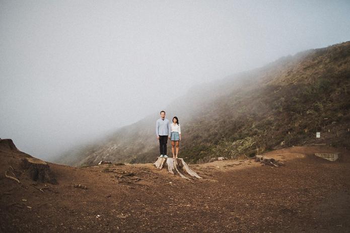Marin Headlands Engagement | Annie & Matt