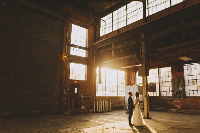 Warehouse Wedding | Portland | Katy + Brad