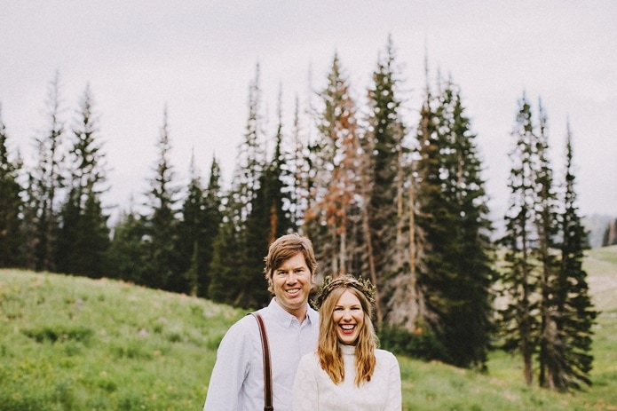 Utah Mountain Engagement | Adriana + Ryan