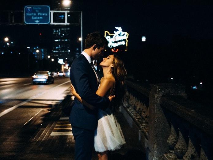 night wedding photo iso 12800