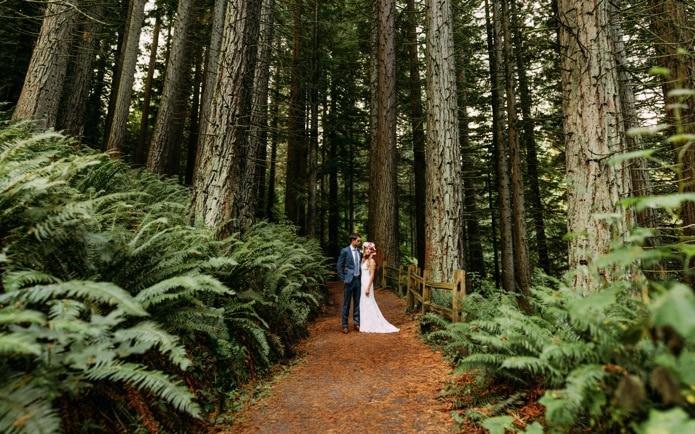 brenizer method pentax 645z wedding photo