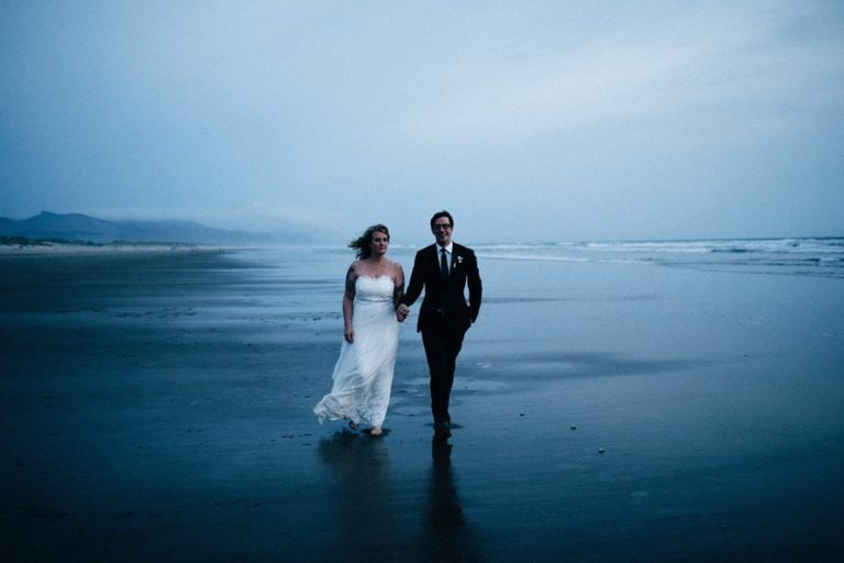 Intimate Oregon Coast Wedding