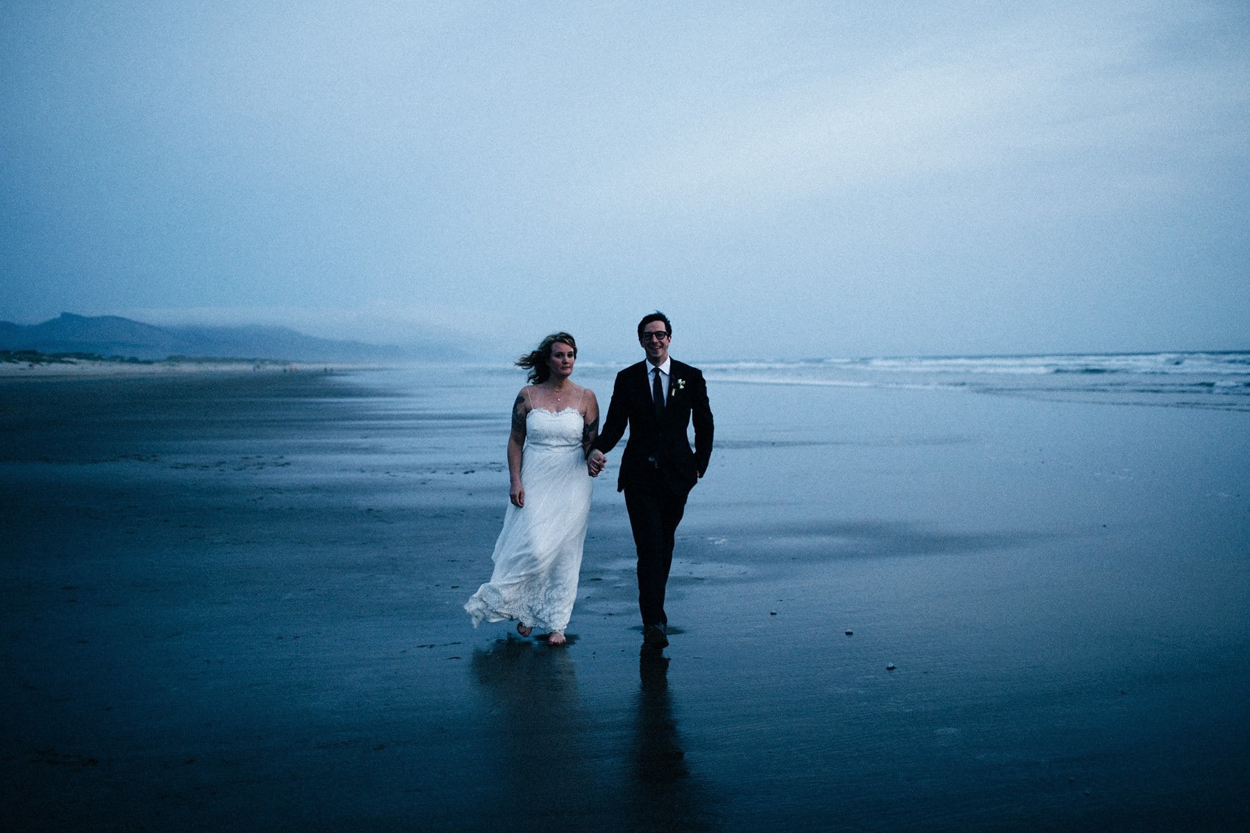 Intimate Oregon Coast Wedding