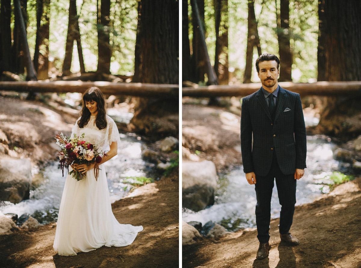 big sur elopement photo julia pfieffer burns state park