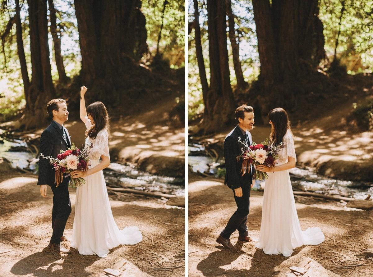 big sur wedding ceremony photo