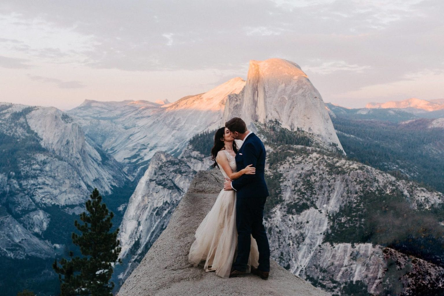 yosemite wedding elopement photo