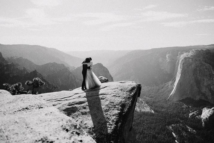 taft point elopement photo