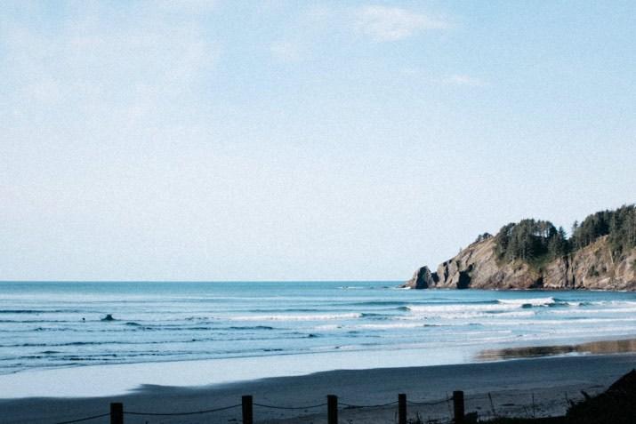 short sands surf oregon photo