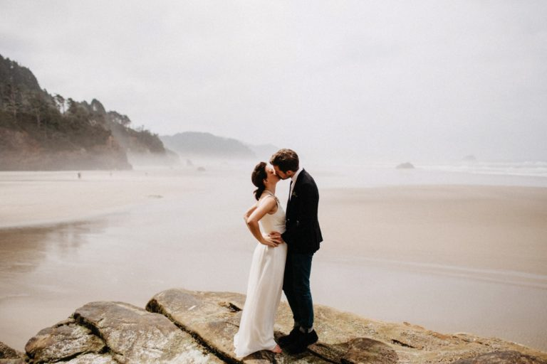 Oregon Coast Elopement | Judson + Michelle
