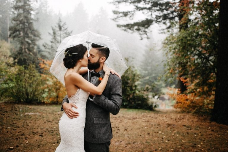 Cathedral Park Wedding | Melissa + Ryan