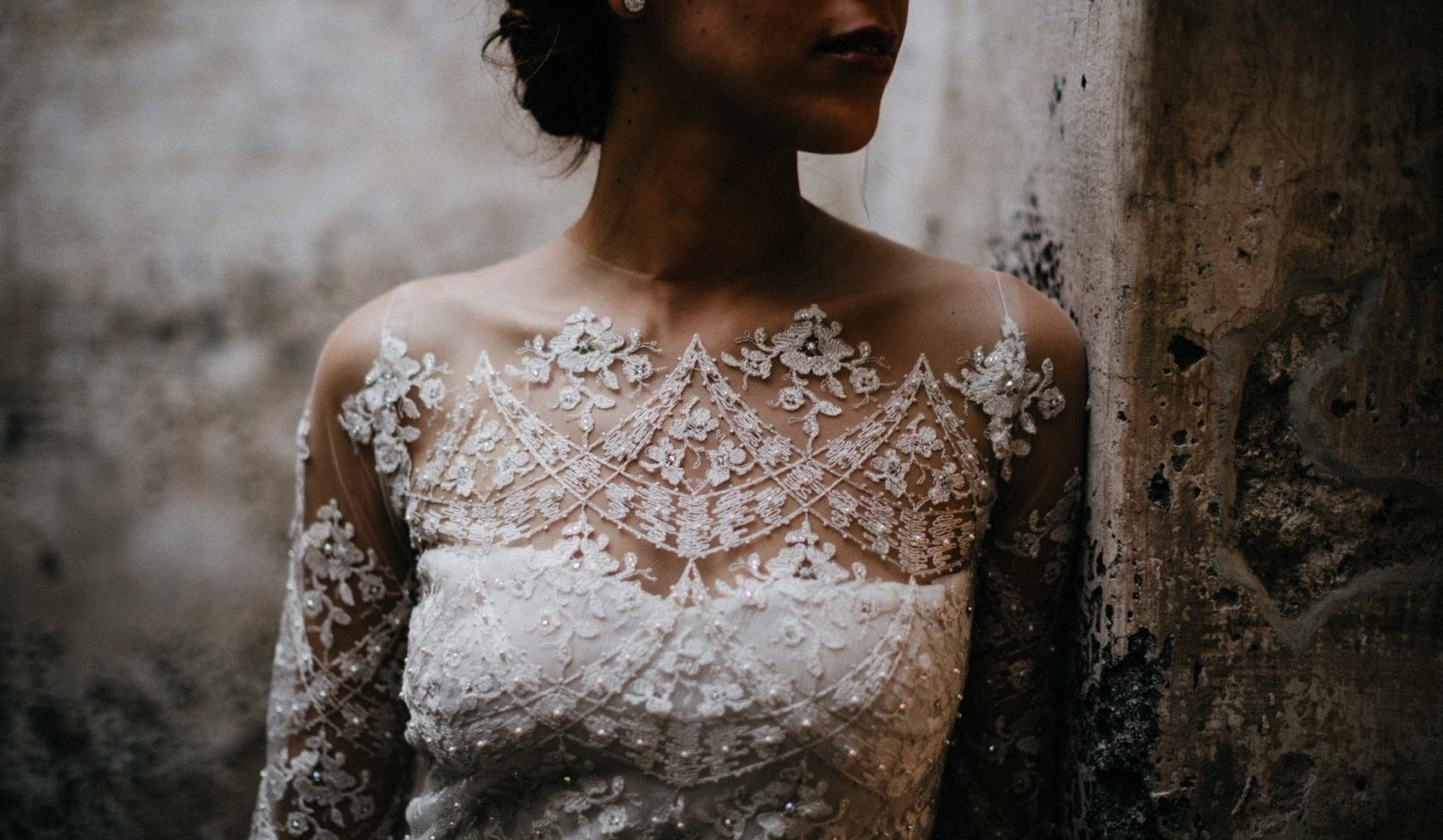 antigua wedding dress bride photo