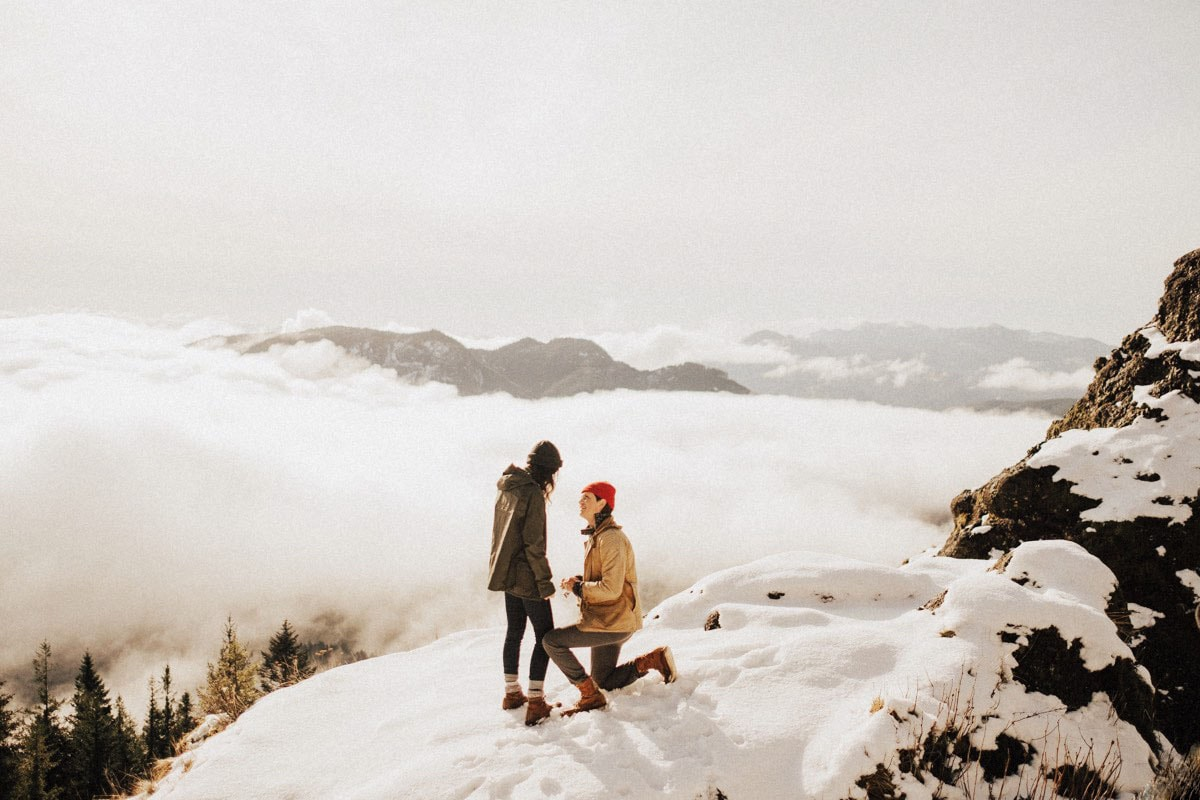 Mountaintop Proposal // Christian + Elle-May