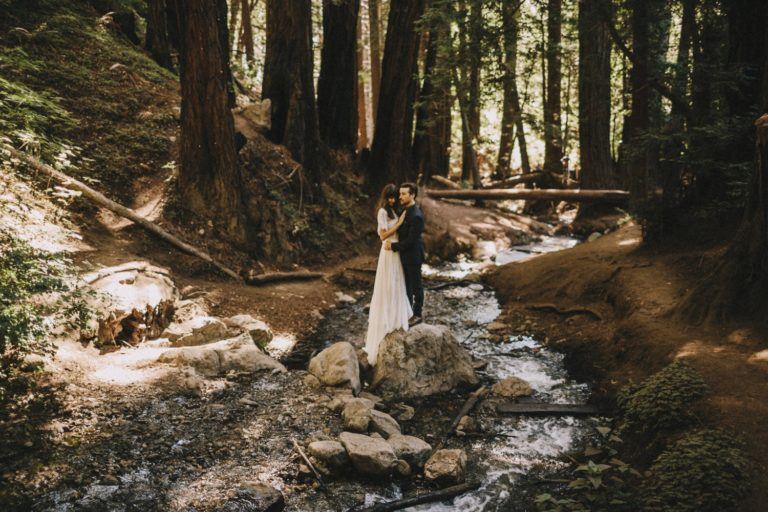 Julia Pfeiffer Burns State Park Elopement