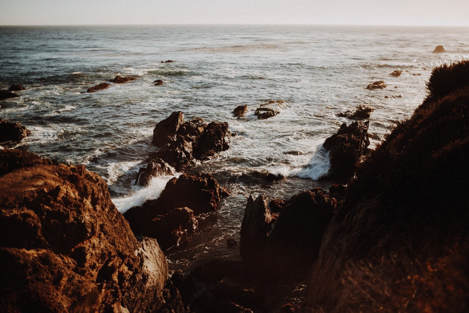 rocky coast of big sur