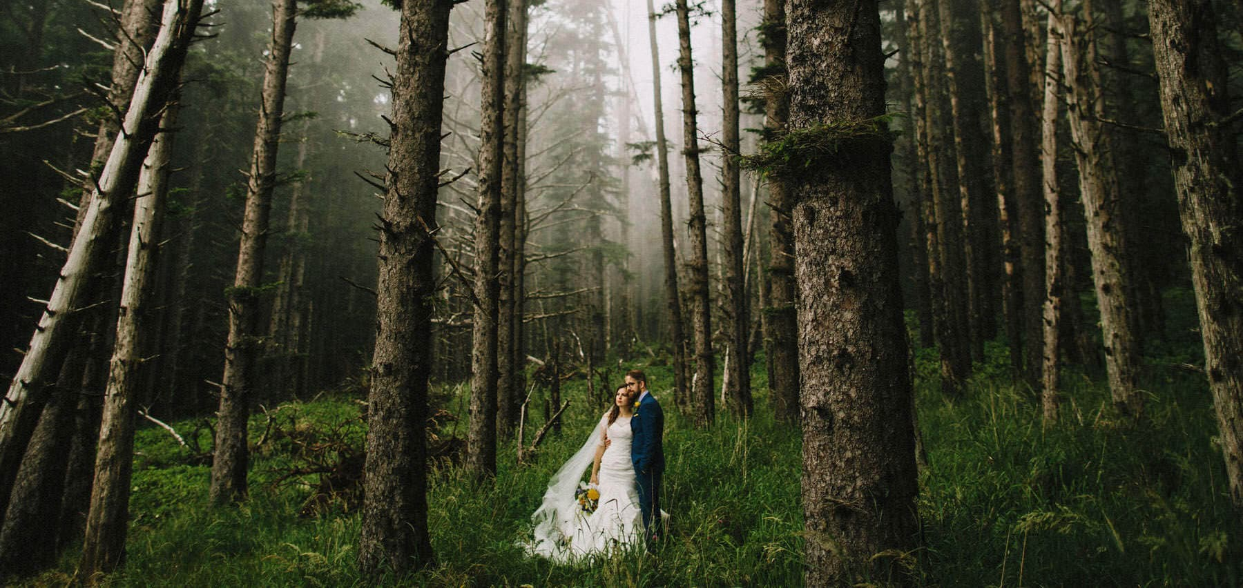 Oregon Coast Cliff Wedding | Tara + Caleb
