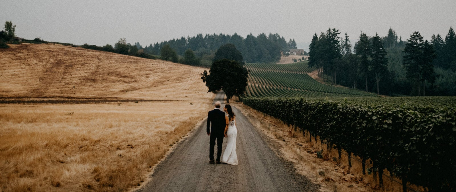 Domaine de Broglie Vineyard Wedding | Willamette Valley