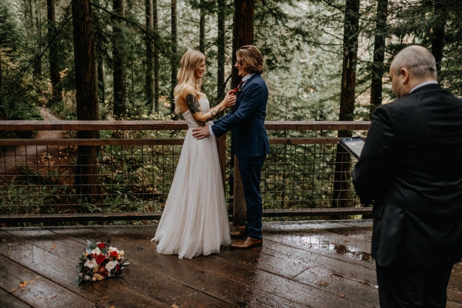 outdoor elopement venue in portland oregon