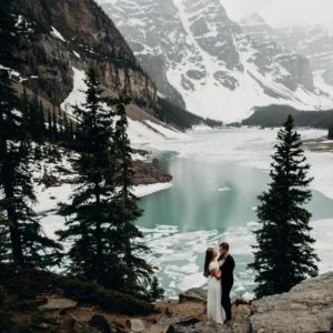 banff elopement photo