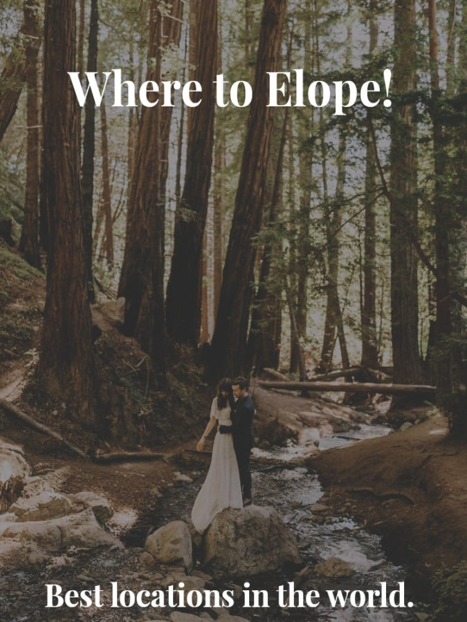 where to elope best locations in the world