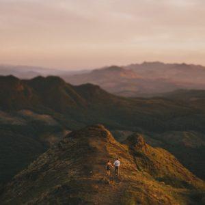 saddle mountain elopement photo