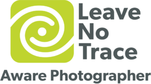 live no trace aware photographer logo